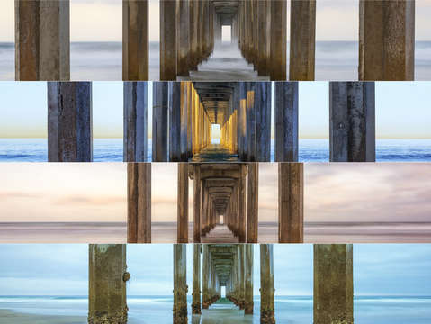 The faces of scripps pier 2