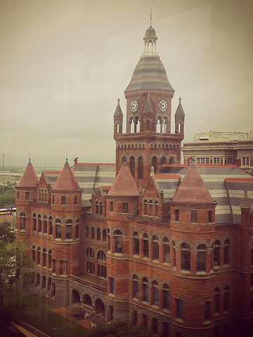 Old red dallas county courthouse