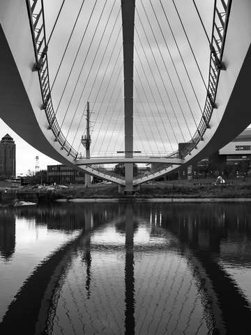 Bridge reflection 2