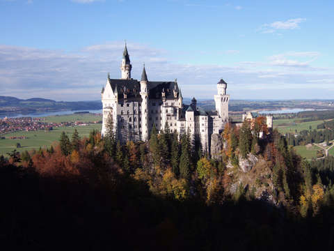 Germany castle neuschwanstein