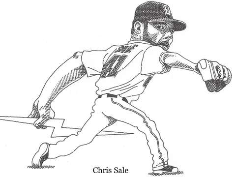 Red sox ace pitcher chris sale
