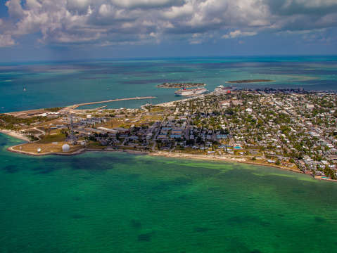 The east side of key west florida