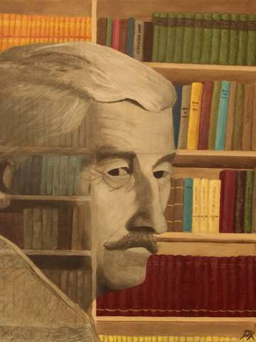 Ghost in the Library: William Faulkner
