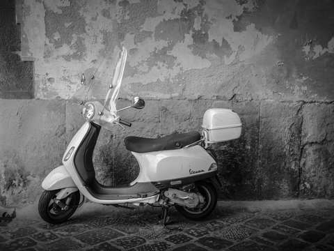 Scooter rome italy