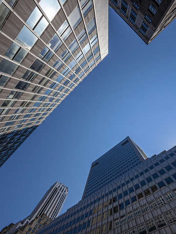 High rise office buildings