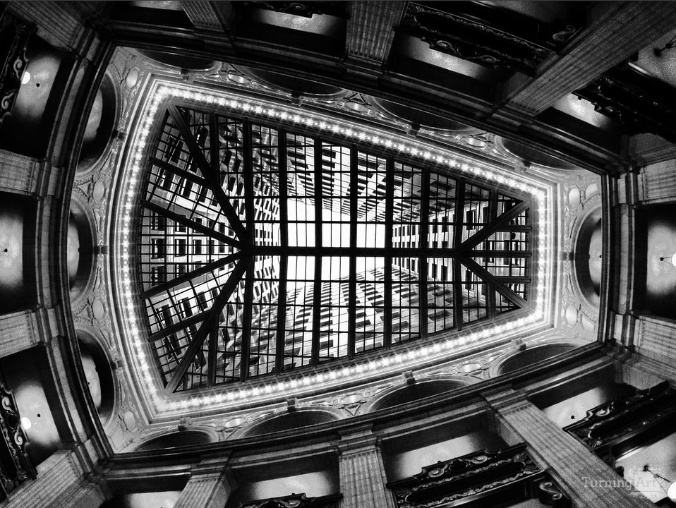 David whitney building atrium detroit