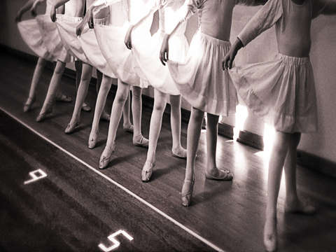 Ballet practice beyond 9 to 5
