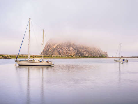 Foggy in morro bay 1