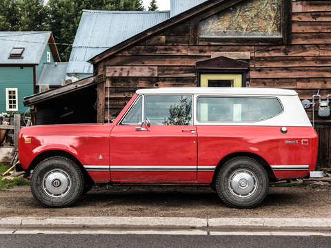 Red international scout