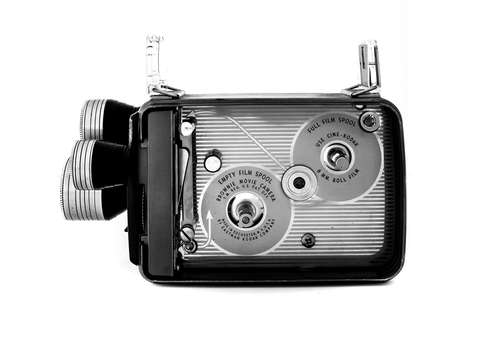 Cine kodak camera