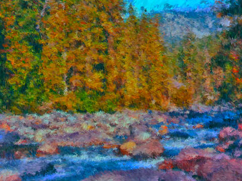 Upper cle elum river