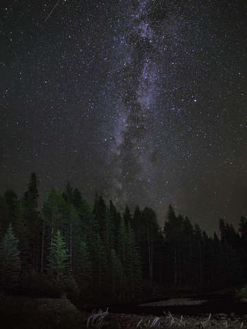Montana milky way