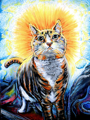 Holy Cat By Gregery Miller Turningart