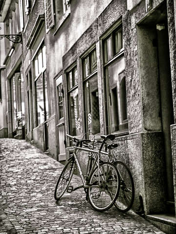 Zurich bicycles