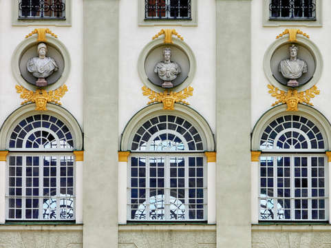 Nymphenburg palace windows