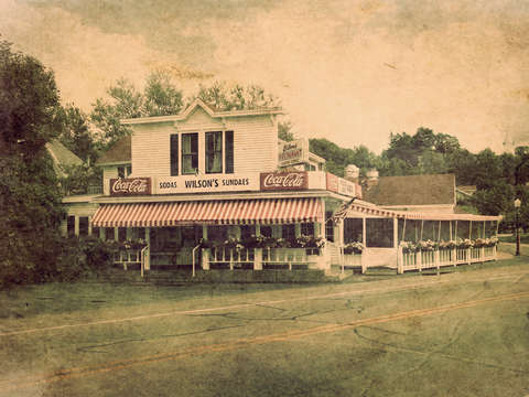 Wilsons restaurant and ice cream parlor