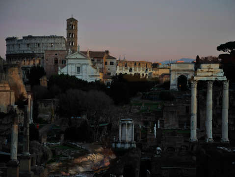 Sunset of the republic