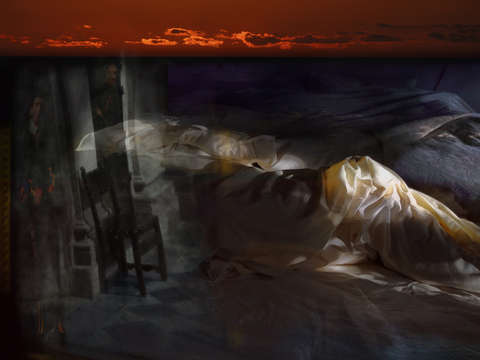 Sleeping into sunset