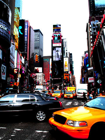 Time Square Vibrancy