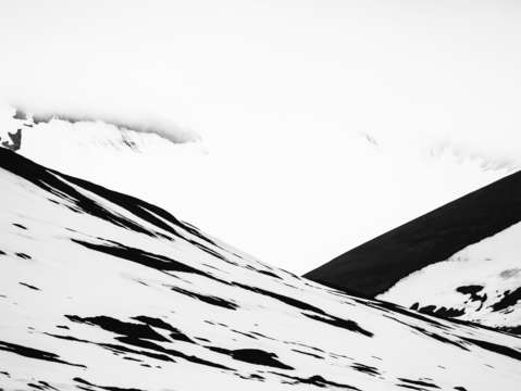 Arctic mountain abstract 2