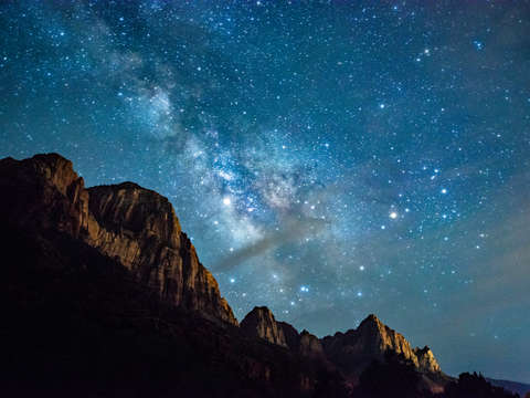 Milky way over zion 2