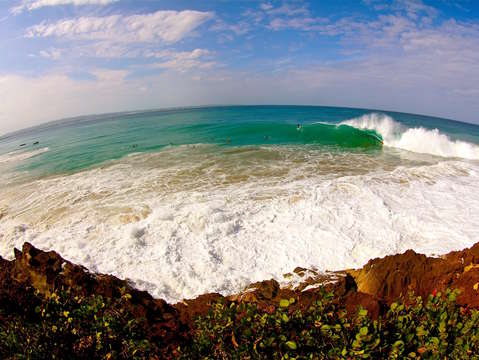Fisheye wave