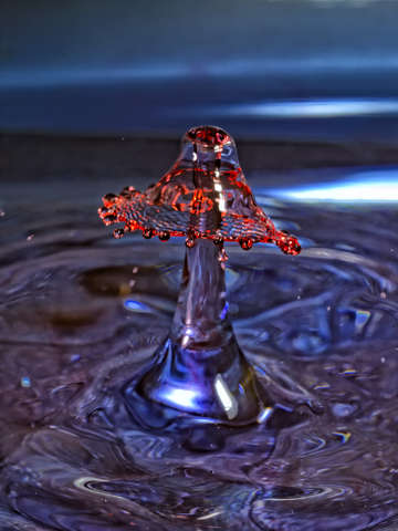 Water drop art 1