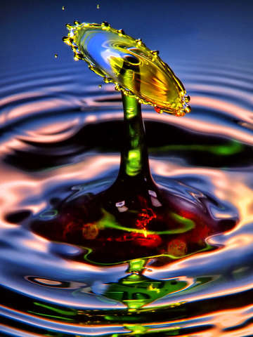 Water drop art 6