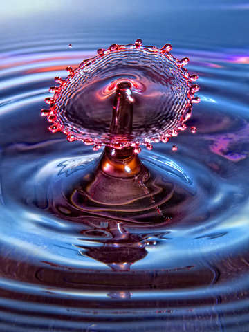 Water drop art 11