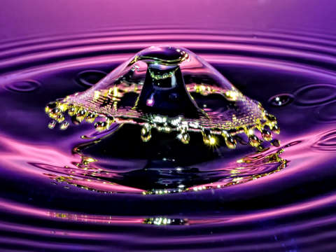 Water drop art 13