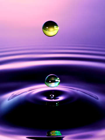 Water drop art 14