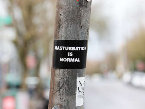 Masturbation is normal