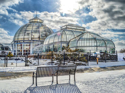 Belle isle conservatory v1 watercolor