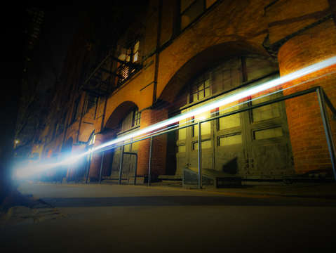 Tribeca beam of light