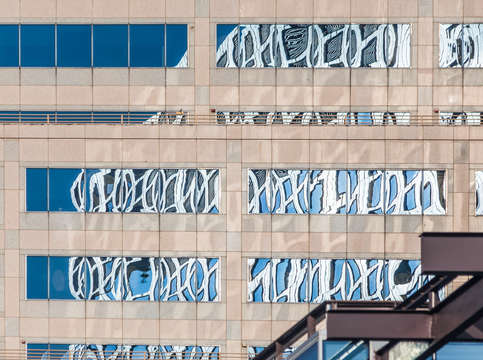 Austin building reflections