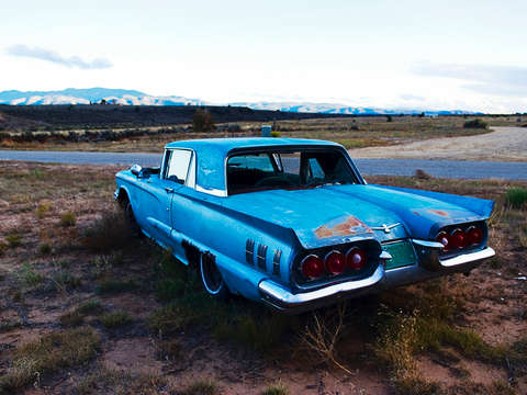 Blue thunderbird taos new mexico