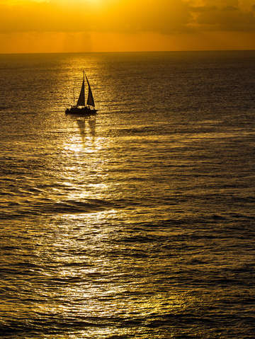 Sunset sail 3