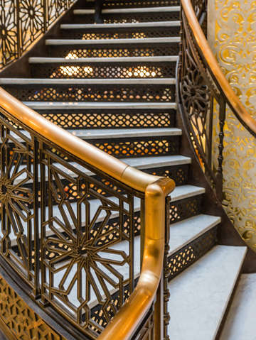 Rookery stair case