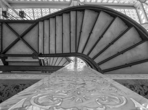 Rookery stair perspective