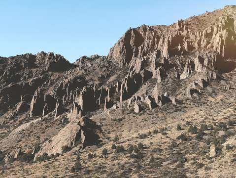 Texas desert mountains 3