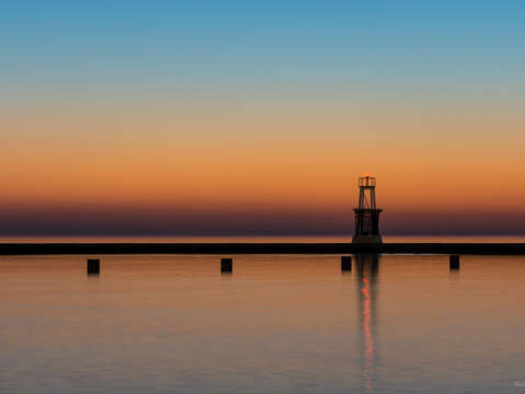 North ave lighthouse sunrise