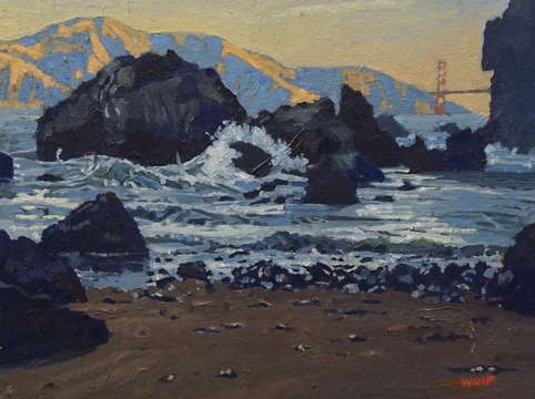 China beach golden gate