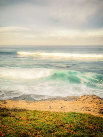 Surf sea at windansea 1