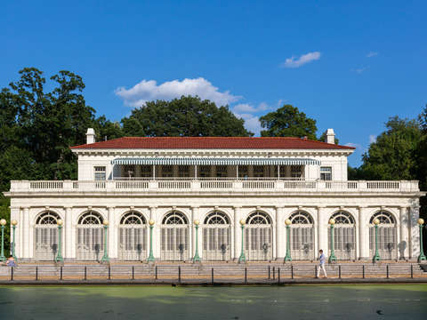 Prospect park boathouse brooklyn ny