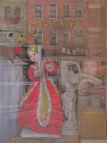 Obscura show window east village