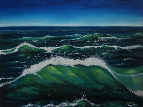 Emerald waves