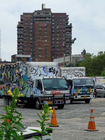 Painted trucks les new york city