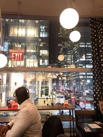 Bar with a view midtown new york