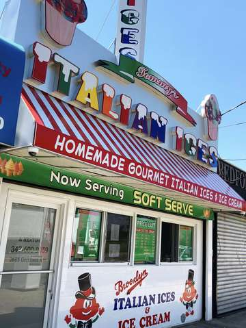 Italian ice brooklyn new york