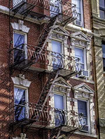 Fancy fire escape 5409